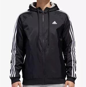 Adidas Reversible Rip Stop Hoodie/Jacket